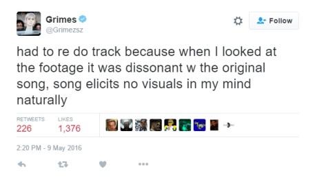grimes tweet
